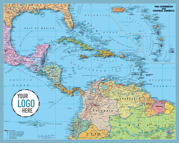 GABELLI US INC V - Us and central america map