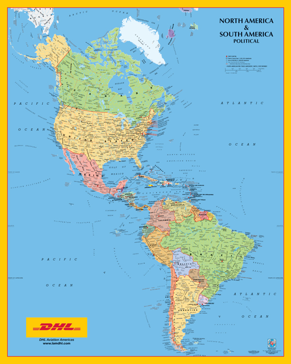 America political north&; south